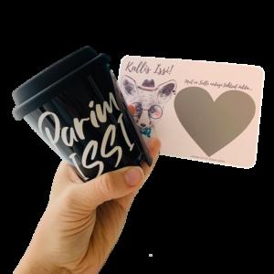 kraapsu isadepäeva kombo kingitus personaalne kaart pokaal kohvitops
