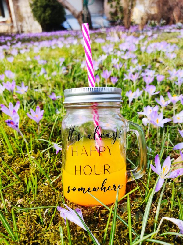 Its always happy hour somewhere klaasist kruus tass tops klaas kingitus