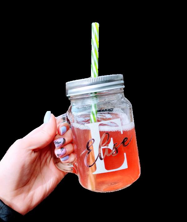 Klaasist oma sõnumiga tekstiga joogikruus personaalne kingitus suvi klaas tass tops