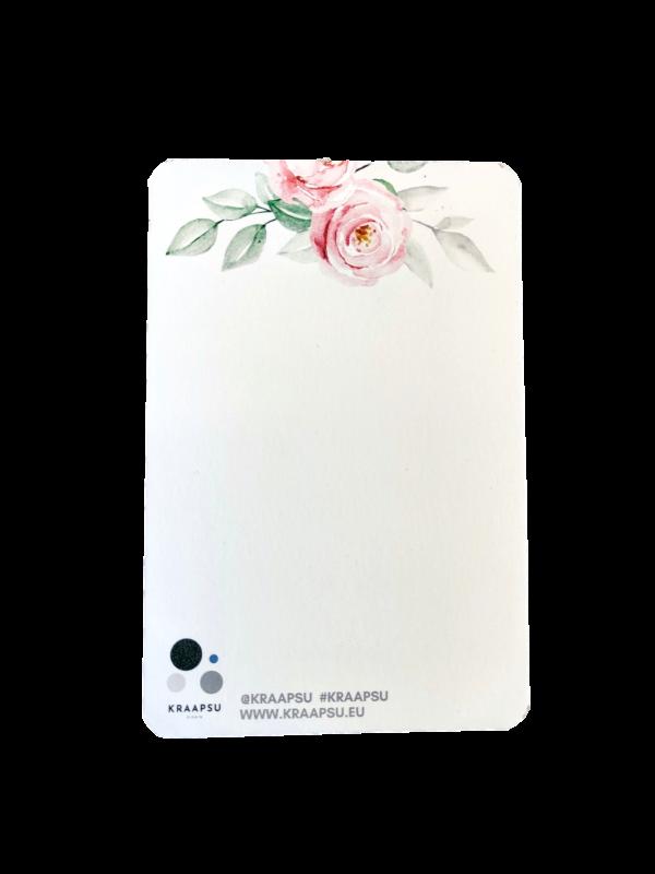 emadepäeva kaart roosidega
