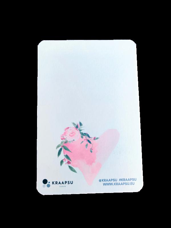 emadepäeva kaardi tagumine külg