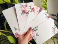 Lilledega kaarditoorikud kraabitavad kleebised tee ise kaart kraapsu kraabitav kaart